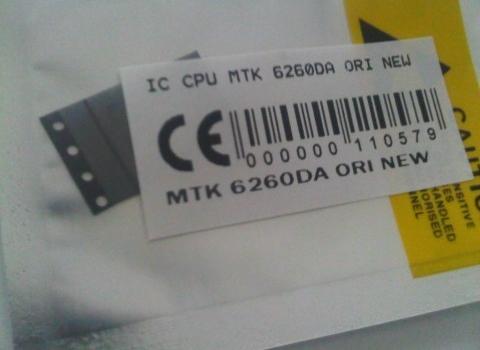 IC CPU MTK 6260DA