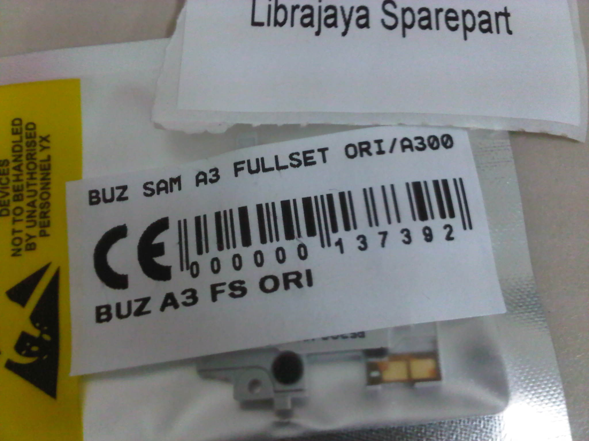 Buzzer Samsung A3 Fullset Librajaya Grosir Sparepart Hp Murah Lcd E1272 Ui Caramel