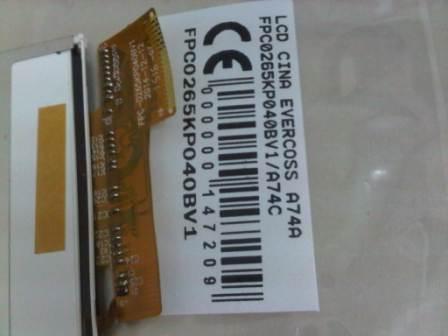 LCD EVERCOSS A74A EVERCOSS A74C