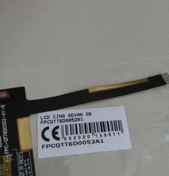 LCD ADVAN S6 FPCQTT6D0052A1