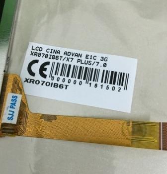 LCD ADVAN E1C 3G XR070IB6 TX7 PLUS