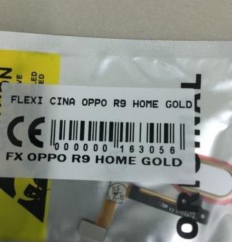 FLEXIBEL OPPO R9 HOME GOLD