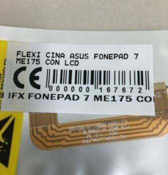 FLEXIBEL ASUS FONEPAD 7 ME175 KONEKTOR LCD