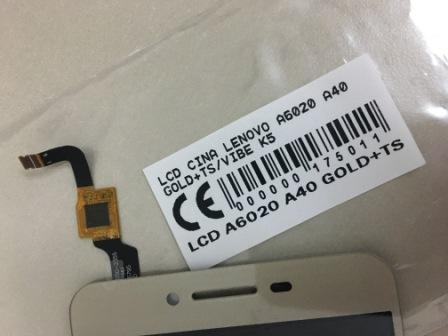 LCD LENOVO A6020 A40 – LENOVO VIBE K5
