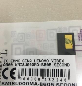 IC EMMC LENOVO VIBEX A960 KMI8U000MA-B605