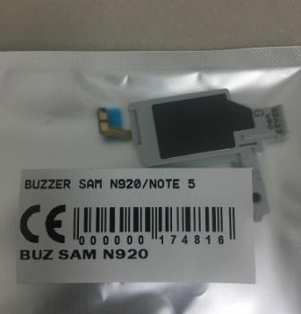 BUZZER SAMSUNG N920-SAMSUNG NOTE 5