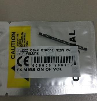 FLEXIBEL XIAOMI MI5S ON OFF VOLUME