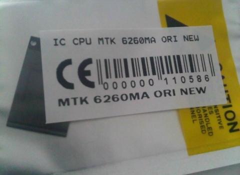 IC CPU MTK 6260MA