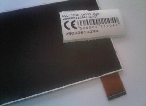 LCD CROSS A20 25000612290