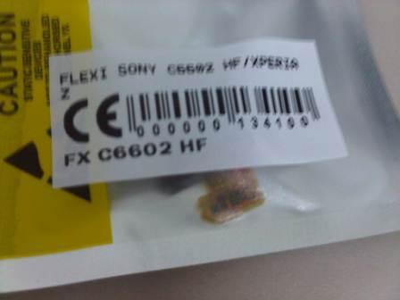 flexi sony c6602 hf