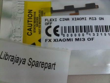 FLEXIBEL XIAOMI MI3 ON OFF