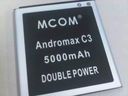 BATRE DOUBLE POWER ANDROMAX C3