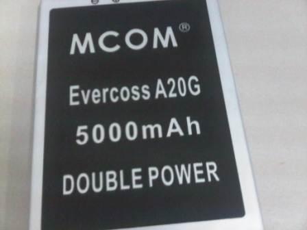 BATRE DOUBLE POWER EVERCOSS A20G