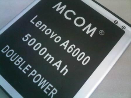 BATRE DOUBLE POWER LENOVO A6000