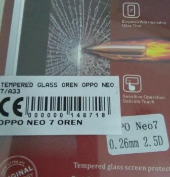 TEMPERED GLASS OPPO NEO 7