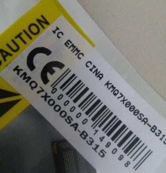 IC EMMC CINA KMQ7X000SA-B315
