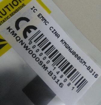 IC EMMC CINA KMQNW000SM-B316