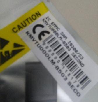 IC EMMC SAMSUNG I9300 KMVTU000LM-B503 GALAXY S3