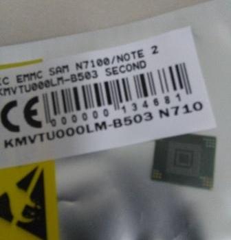 IC EMMC SAMSUNG N7100 NOTE 2 KMVTU000LM-B503 SECOND