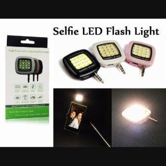 LAMPU FLASH SELFIE+JACK 0.35MM UNIVERSAL ALL HP