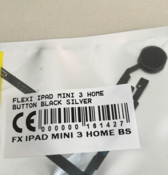 FLEXIBEL IPAD MINI 3 HOME BUTTON