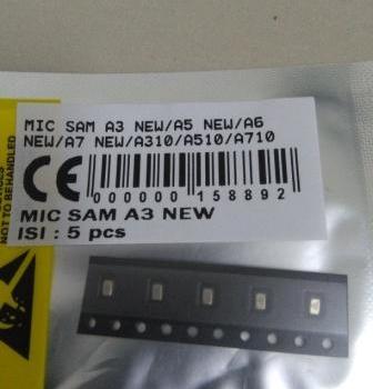 MIC SAMSUNG A3 NEW-A5 NEW-A6 NEW-A7 NEW-A310-A510-A710