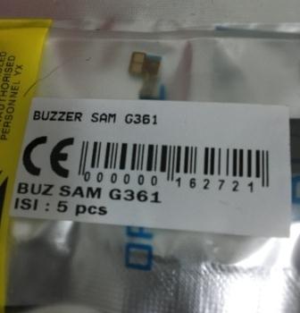 BUZZER SAMSUNG G361