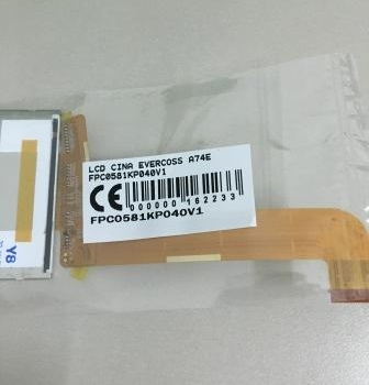LCD EVERCOSS A74E FPC0581KP040V1