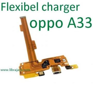 Jual Flexible Charger Oppo A33 murah