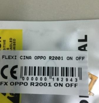 FLEXIBEL OPPO R2001 ON OFF