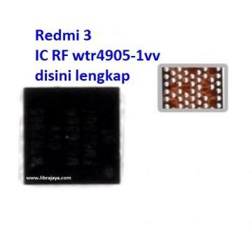 Jual IC RF WTR4905 1VV Redmi 3