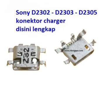 Jual Konektor charger Sony D2302