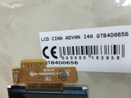 LCD ADVAN I4A QTB4D0656
