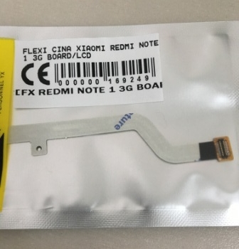 FLEXIBEL XIAOMI REDMI NOTE 1 3G BOARD LCD