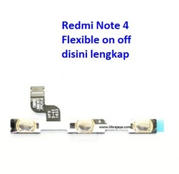 Jual Flexible on off Redmi Note 4