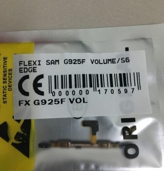 FLEXIBEL SAMSUNG G925F VOLUME-S6 EDGE