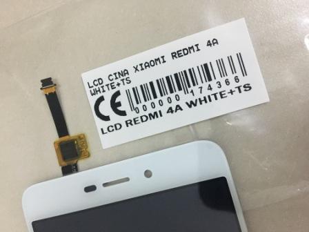 Jual Lcd Xiaomi Redmi 4A putih murah