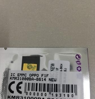 IC EMMC OPPO F1F KMR31000BA-B614