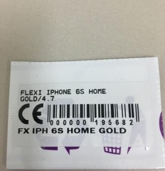 FLEXIBEL IPHONE 6S HOME GOLD