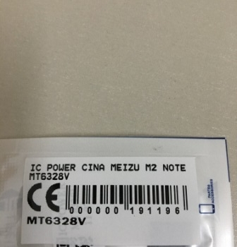 IC POWER MEIZU M2 NOTE MT6328V