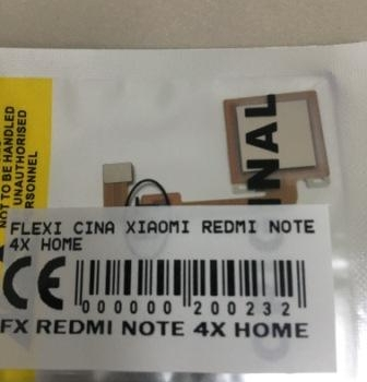 FLEXIBEL XIAOMI REDMI NOTE 4X HOME