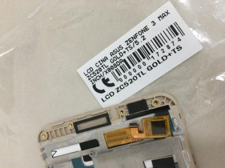 LCD ASUS ZENFONE 3 MAX ZC520TL X008DA