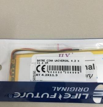 Batre Cina Universal 4.2 X 11.3 Cm