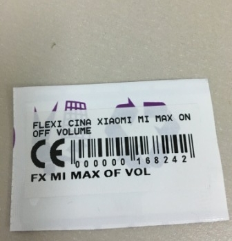 Flexibel Xiaomi Mi Max On Off Volume
