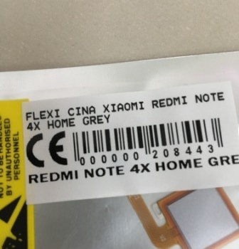 Flexibel Xiaomi Redmi Note 4X Home Grey