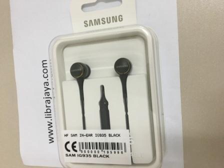 Handsfree Samsung In-Ear Ig935 Black