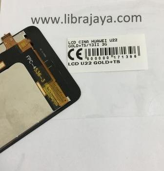 Lcd Huawei U22 Gold+Touch Screeen-Huawei Y3Ii 3G