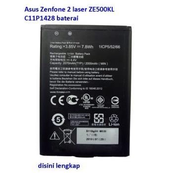 Jual Baterai Zenfone 2 Laser ZE500KL