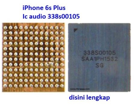 Jual Ic Audio 338s00105 iPhone 6S