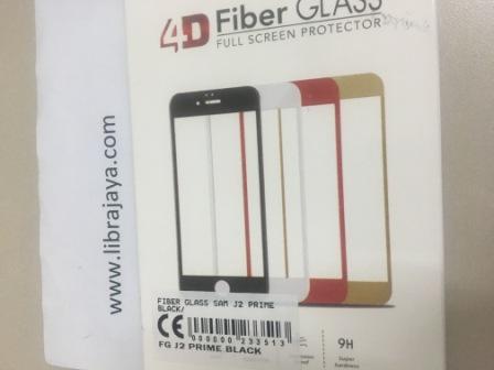 FIBER GLASS SAMSUNG J2 PRIME BLACK